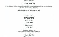 Operator Training Certificate 2