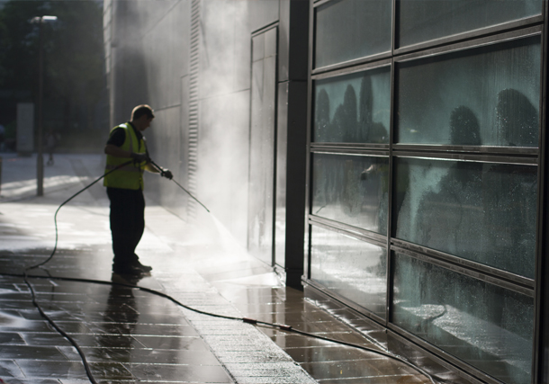 Pressure Washing in North East England